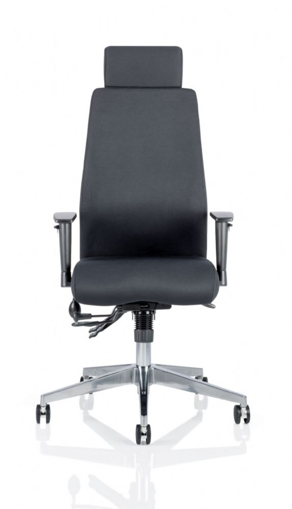 Onyx Posture Office Chair Arms Executive Multi-Functional Mech Headrest Choice of Colours